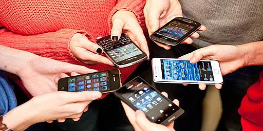 AUMENTO DE USUARIOS DE SMARTPHONES