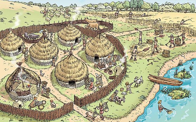 El neolític (10 mil anys a.C)