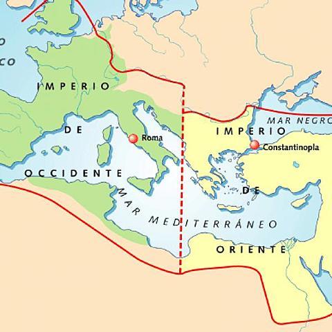 CISMA ENTRE ROMA Y CONSTANTINOPLA
