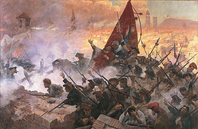 Finaliza la guerra con Cataluña