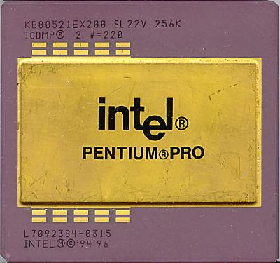Noviembre 1995 - Intel Pentium Pro