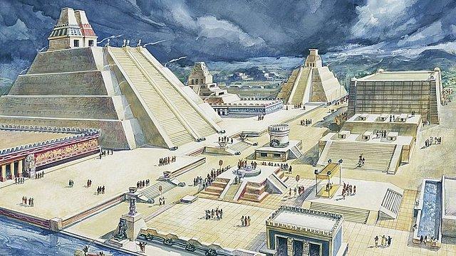 Imperio Azteca- Tecnochtitlán-1325