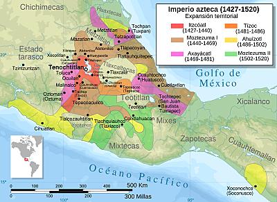 El Imperio Azteca- 6 reinados 1427-1520