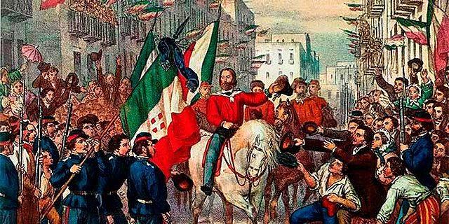 La independencia de Italia