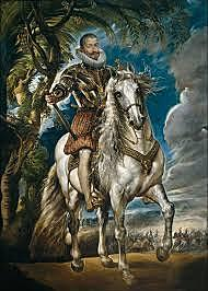 Delegó los asuntos de gobierno en el Duque de Lerma,