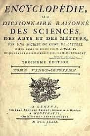 Crisis del Antiguo Régimen y publicación de la Enciclopedia