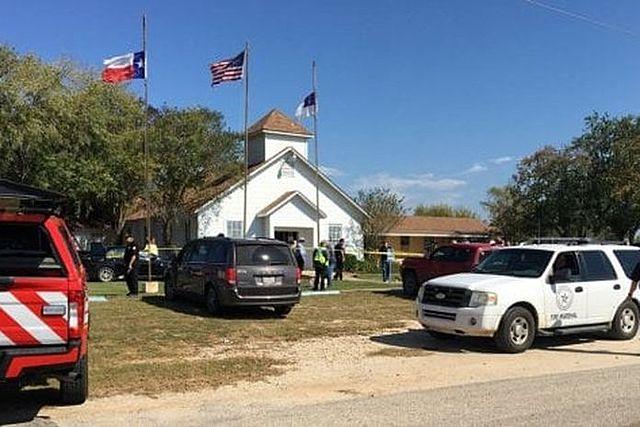 Strage nella chiesa in Texas