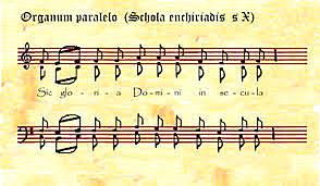 MÚSICA POLIFÓNICA ( S.IX)