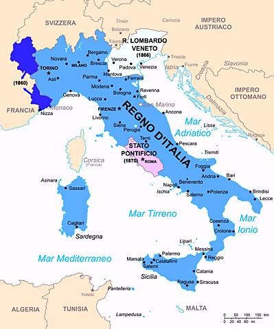 Nasce l'Italia