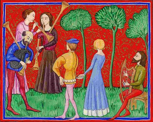 Lírica profana medieval: música profana ( s. XI)