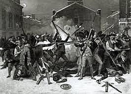 Massacro di Boston: i soldati inglesi spararono per le strade della città per sedare una rivolta.