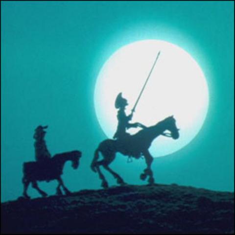 don quijote emprende camino