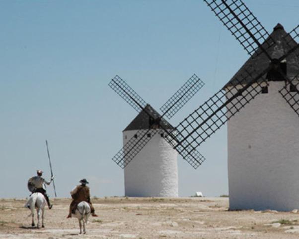 El Quijote y Los Molinos de Viento