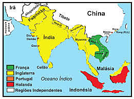 Ocupação da Ásia