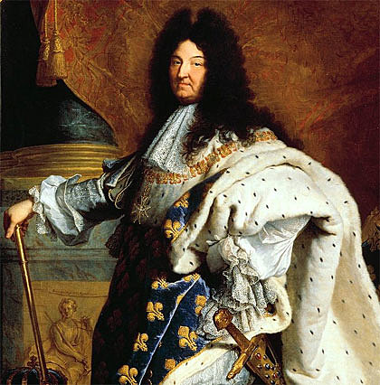 Coronación Luis XIV