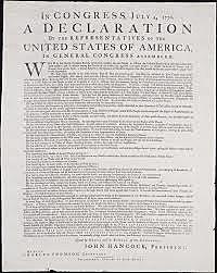 Declaración de la independencía