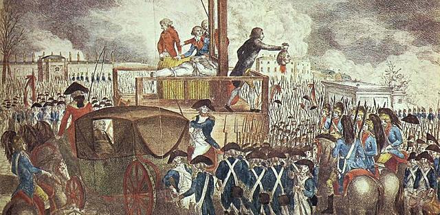 Luis XVI asesinado