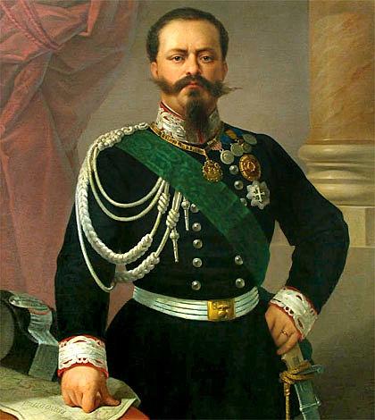 Coronación de Victor Manuel II