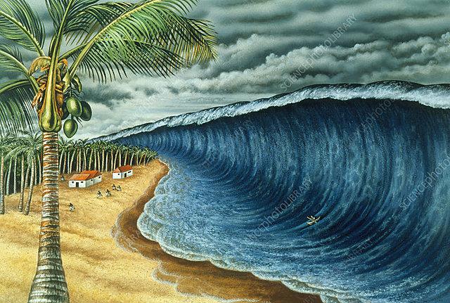 Krakatoa Explosion, Sunda Strait