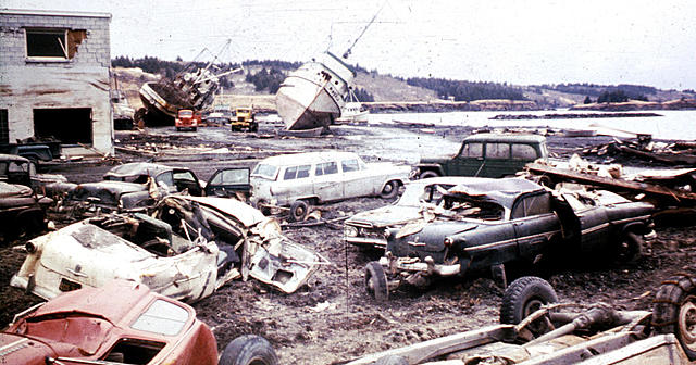 Great Alaskan Earthquake, Prince William Sound Region Alaska