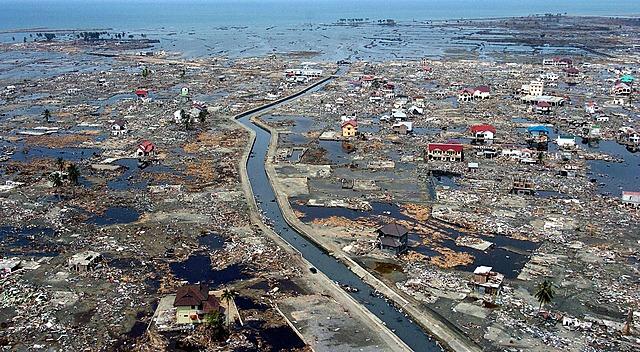 Indian Ocean Earthquake, Sumatra, Indonesia