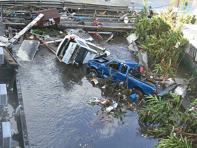Samoa Earthquake, Southern Pacific Ocean