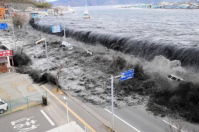 Tōhoku Earthquake, Pacific Coast of Tōhoku