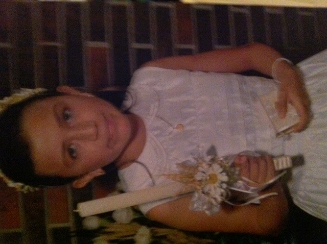Was my first communion