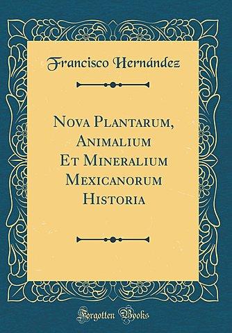 De historia Plantarum de Francisco Hernández