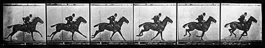 Cronofotgrafía de Muybridge