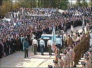Yitzchak Rabin assasinated