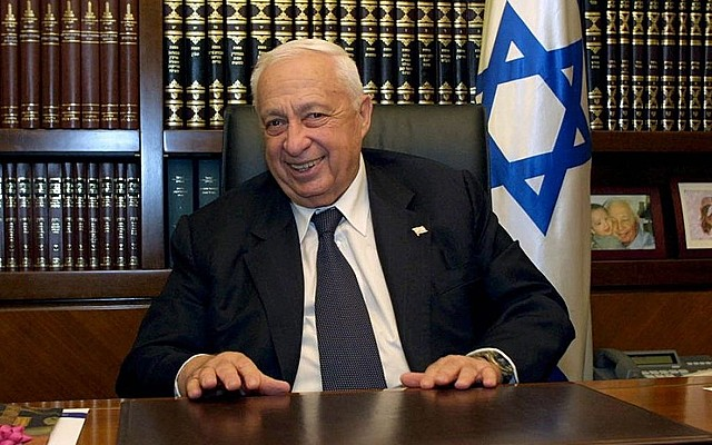 PM Ariel Sharon takes office
