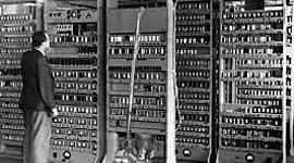 Generación de los ordenadores  timeline