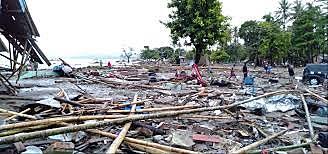 Sundra strait/ krakota Tsunami