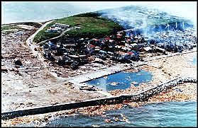 Okushiri island, japan/ Okkaido tsunami