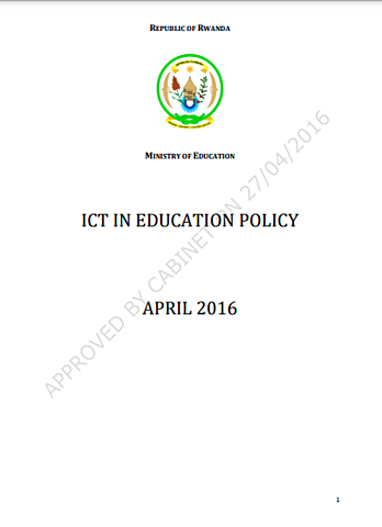 ICT in education policy & Implementation