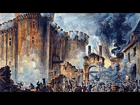 Tomada da Bastilha em Paris
