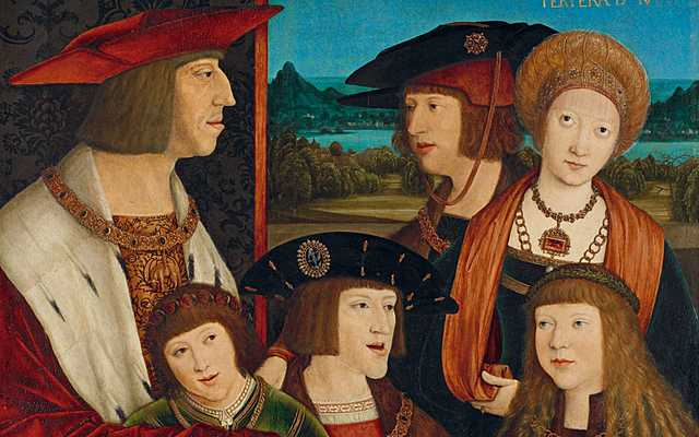 The Hapsburg family was the most powerful family in Europe