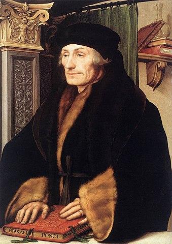 "Erasmus spread the idea of ""humanism."""
