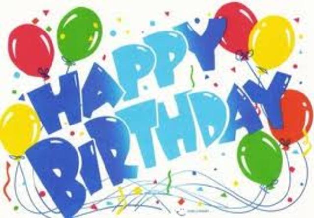 My First Birthday !