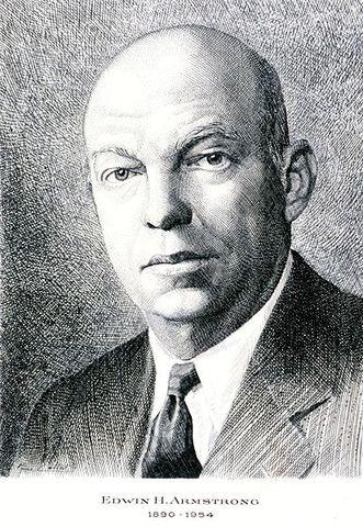 Edwin Howard Armstrong: Frecuencia modulada (FM) (1935)