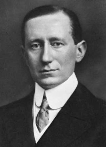 Guglielmo Marconi: la telegrafía inalámbrica (1899)