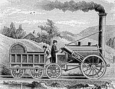 Primera línia de ferrocarril