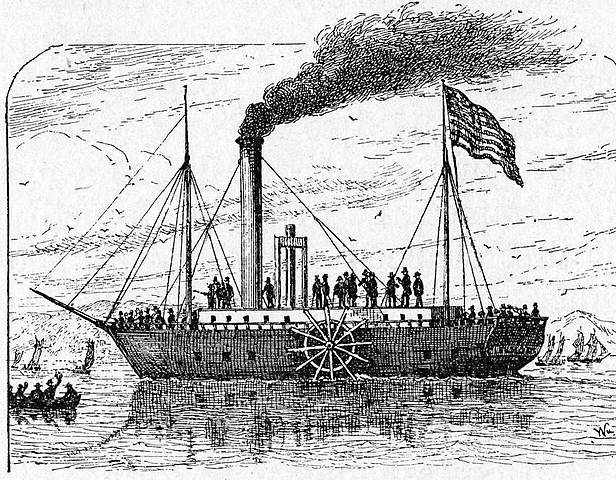 Primer vaixell de vapor de Fulton