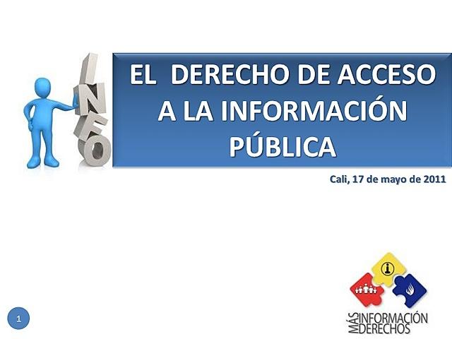 El derecho de acceso a la información pública (DAI)