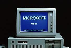 la primer computadora de microsoft