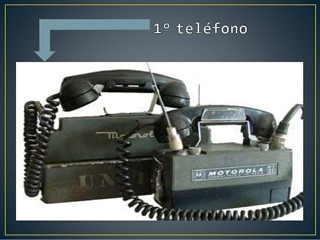 Primer dispositivo móvil