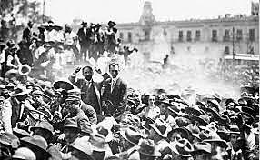Levantamientos armados contra Díaz de acuerdo con el plan de San Luis
