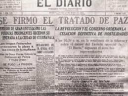Firma del Tratado de Ciudad Juárez