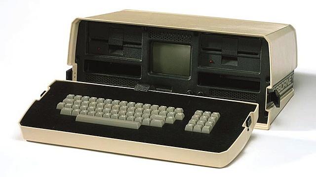 Primera micro computadora portátil del mundo.